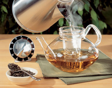 viel tee trinken gesund